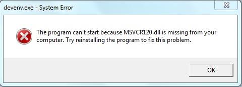 msvcr120 dll file free download